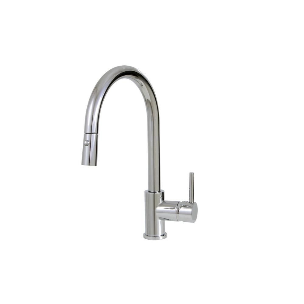 Aquabrass Single Hole Kitchen Faucets item ABFK3445N355