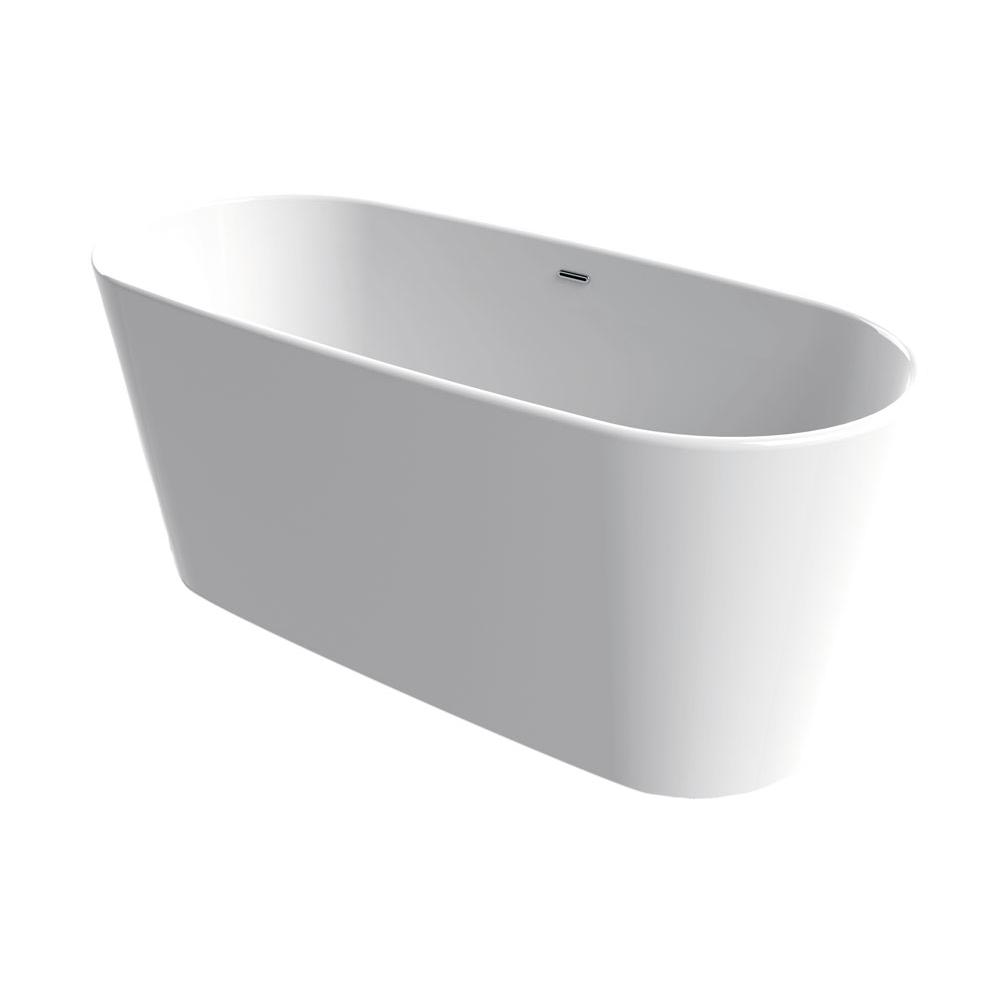 Aquabrass Free Standing Soaking Tubs item ABBTB0002WHGL