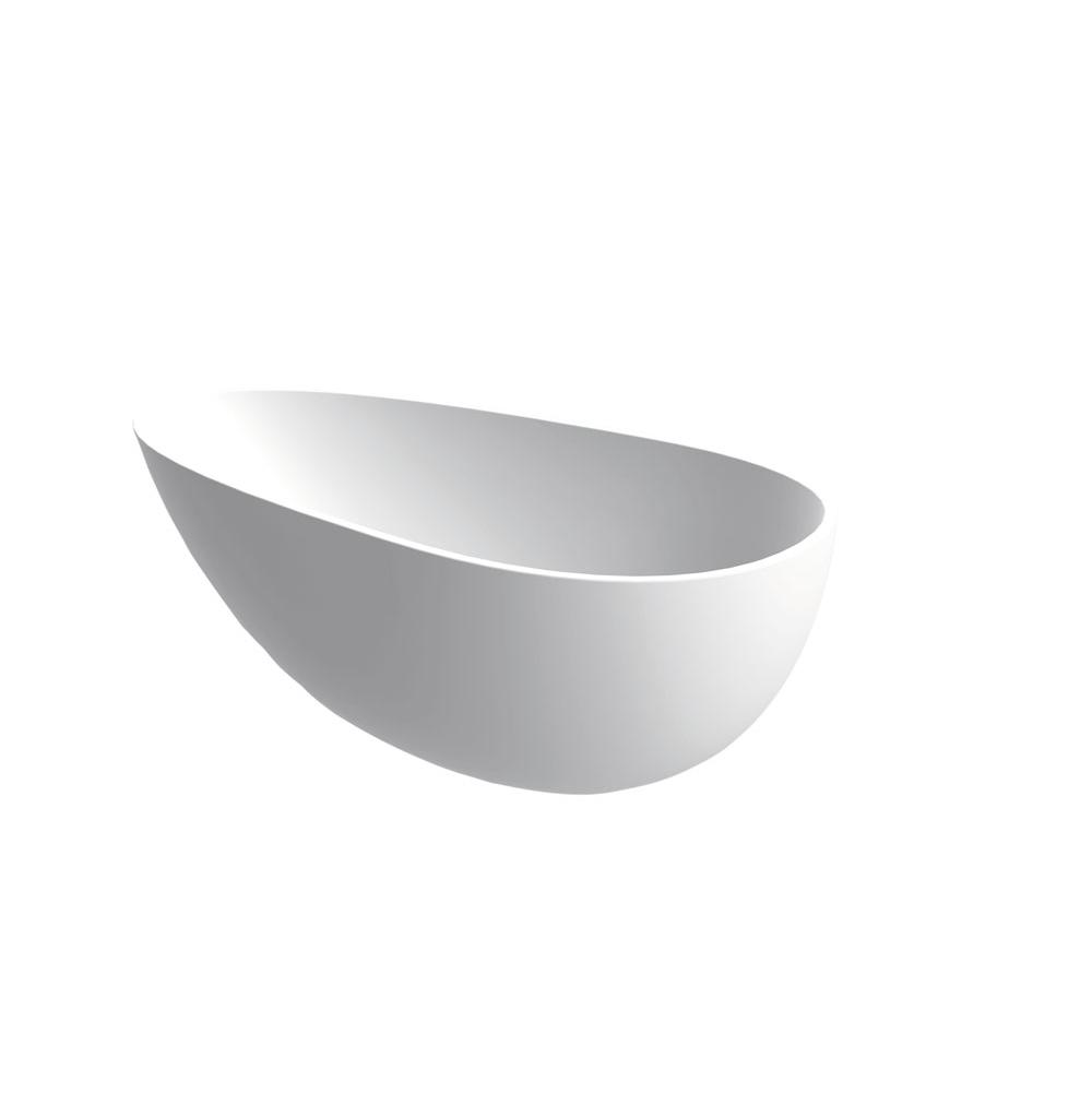Aquabrass Free Standing Soaking Tubs item ABBTB0006WHGL