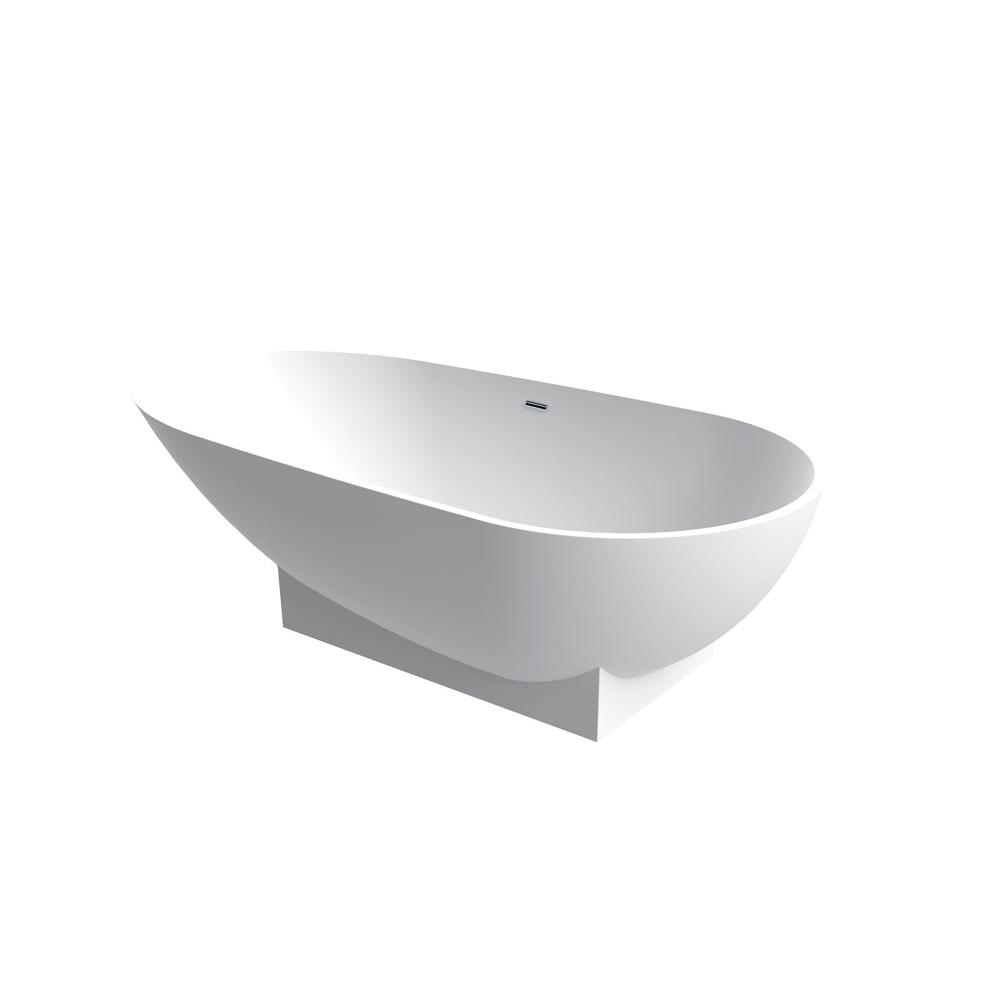 Aquabrass Free Standing Soaking Tubs item ABBTB0016WHGL