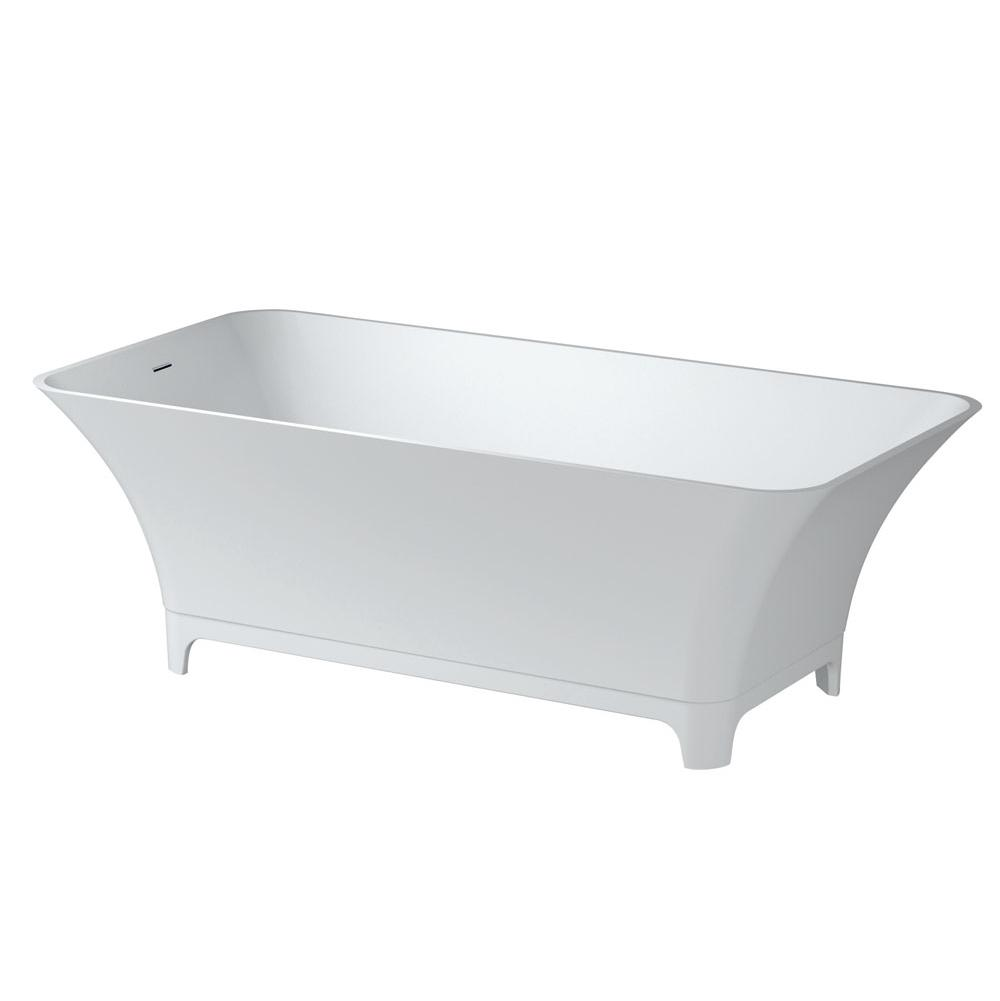 Aquabrass Free Standing Soaking Tubs item ABBTB1021WHGL