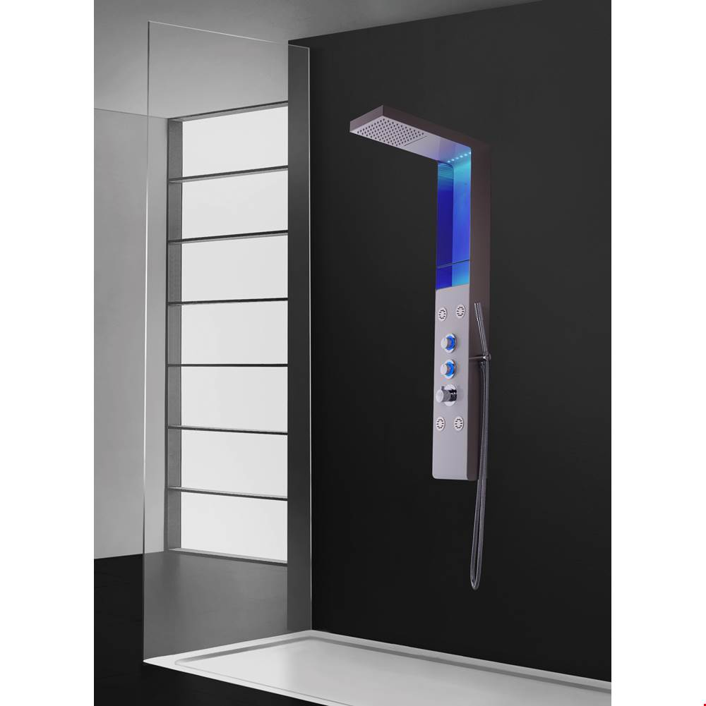 Aquamassage Canada Shower Panels Shower Systems item PD-840-S/WSS