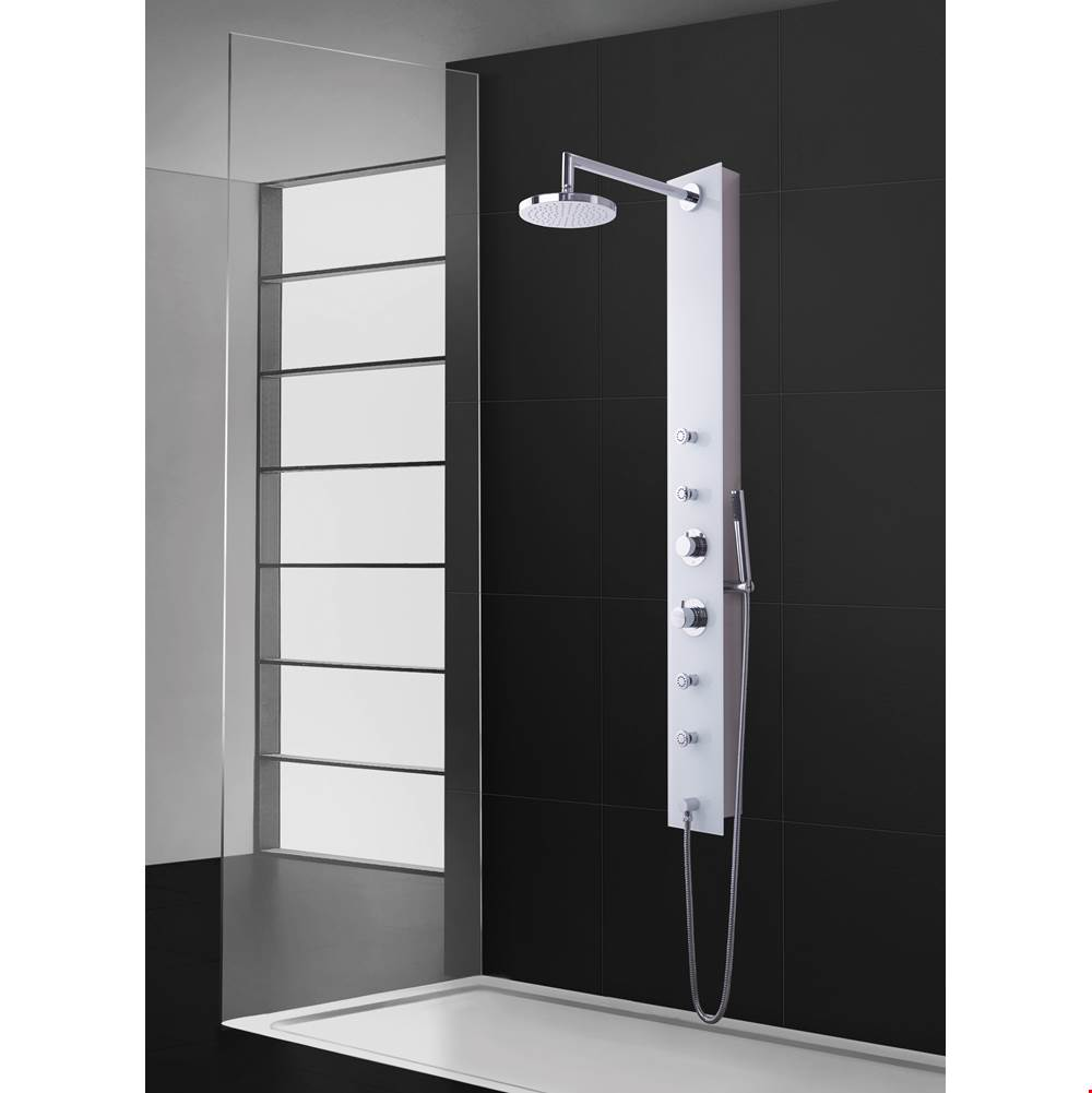 Aquamassage Canada Shower Panels Shower Systems item PD-877-S/XXGSS