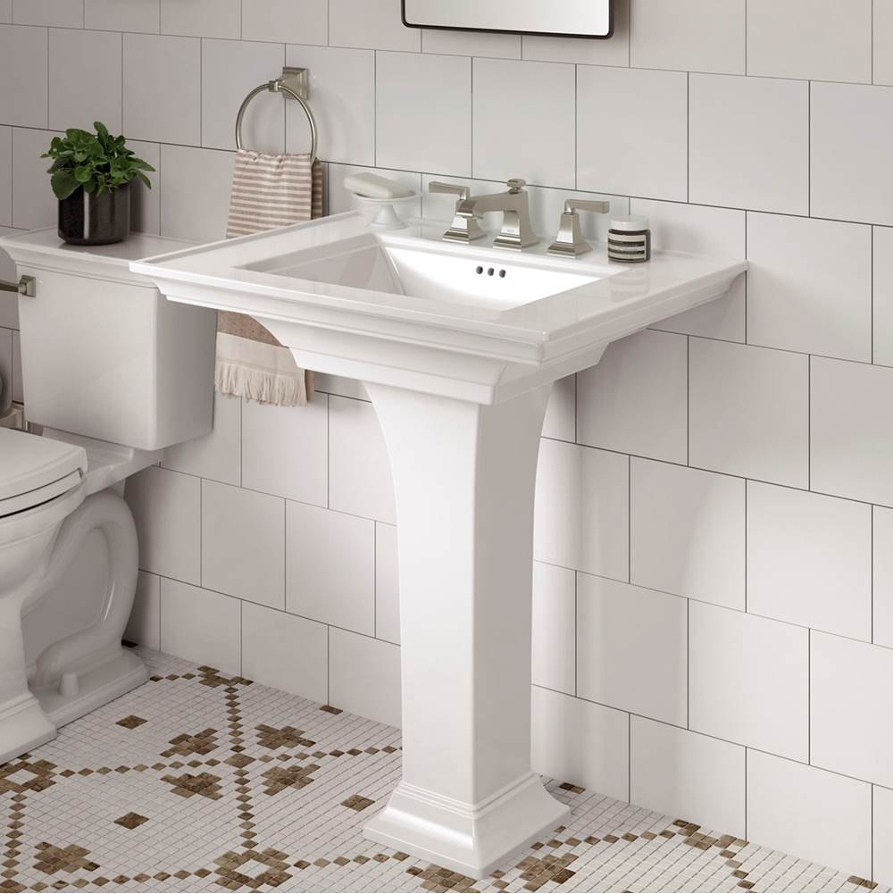 American Standard Canada Pedastal Only Pedestal Bathroom Sinks item 0056001.020