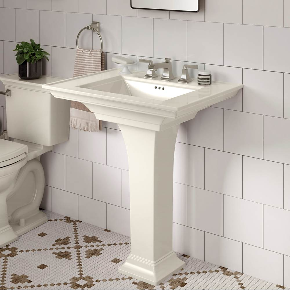 American Standard Canada Pedastal Only Pedestal Bathroom Sinks item 0056001.222