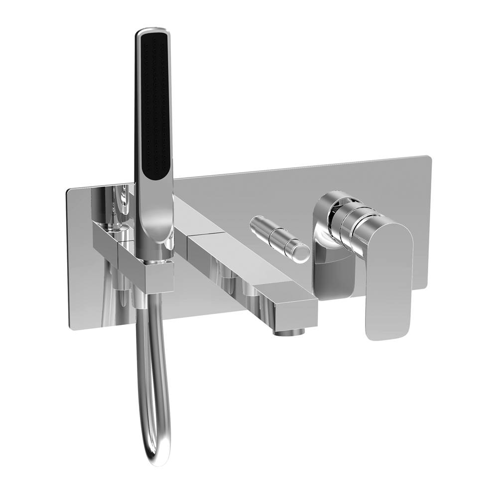 BARiL Pressure Balance Trims With Integrated Diverter Shower Faucet Trims item B45-2000-PB-NN