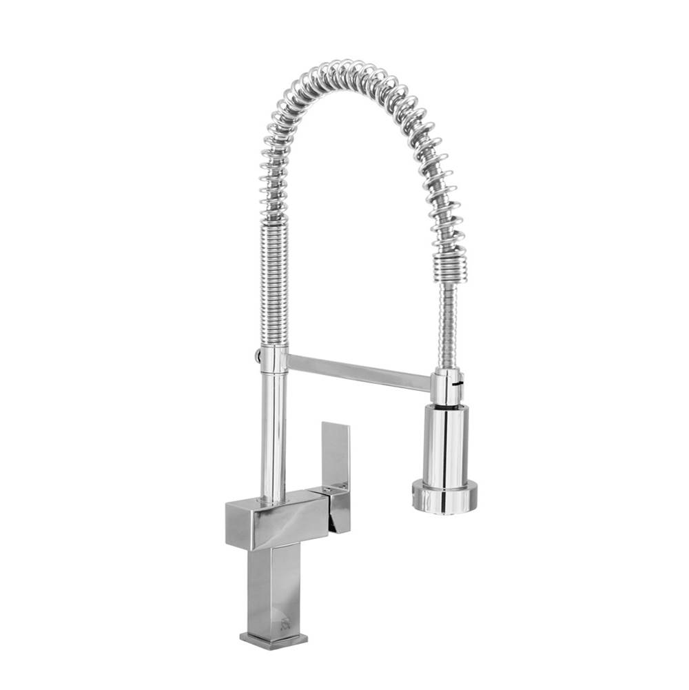 BARiL Single Hole Kitchen Faucets item CUI-9480-45L-GG