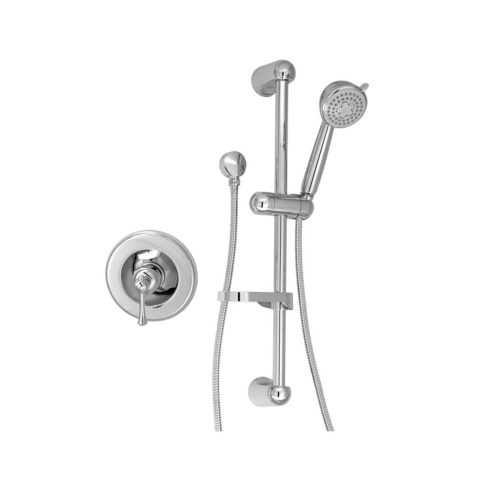 BARiL Pressure Balance Trims With Integrated Diverter Shower Faucet Trims item PRO-2100-19-CC