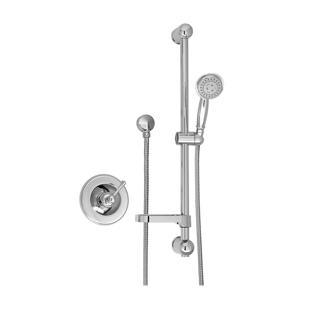 BARiL Pressure Balance Trims With Integrated Diverter Shower Faucet Trims item PRO-2100-72-GG