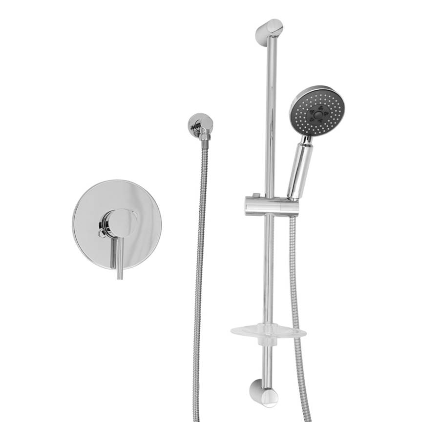 BARiL Pressure Balance Trims With Integrated Diverter Shower Faucet Trims item PRO-2113-66-NN