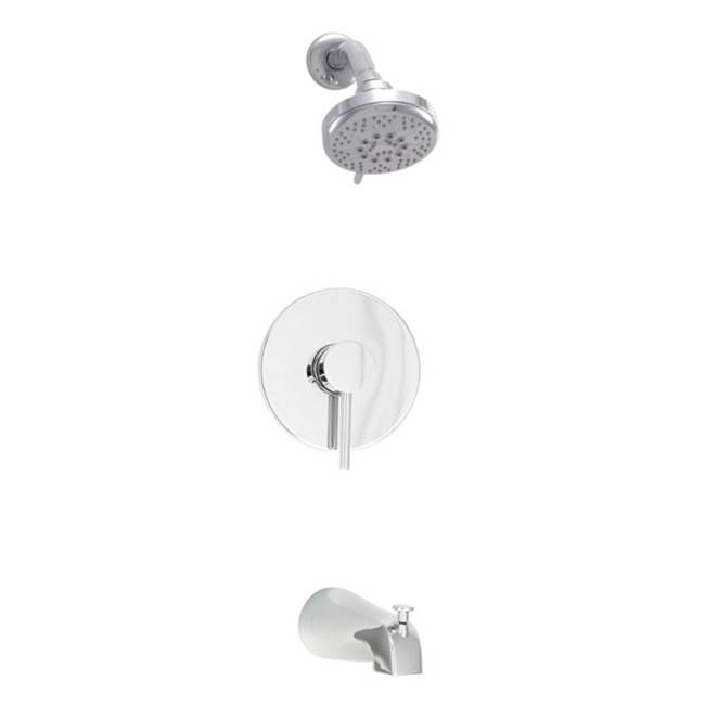 BARiL Pressure Balance Trims With Integrated Diverter Shower Faucet Trims item PRO-2202-66-NN