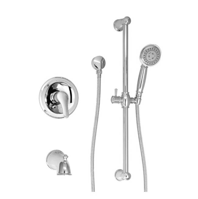 BARiL Pressure Balance Trims With Integrated Diverter Shower Faucet Trims item PRO-2202-70-**