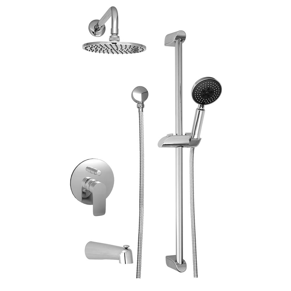 BARiL Pressure Balance Trims With Integrated Diverter Shower Faucet Trims item PRO-2230-45-**