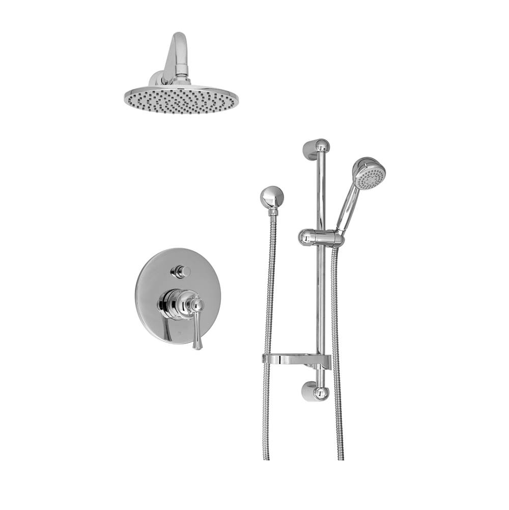 BARiL Pressure Balance Trims With Integrated Diverter Shower Faucet Trims item PRO-2400-19-GG