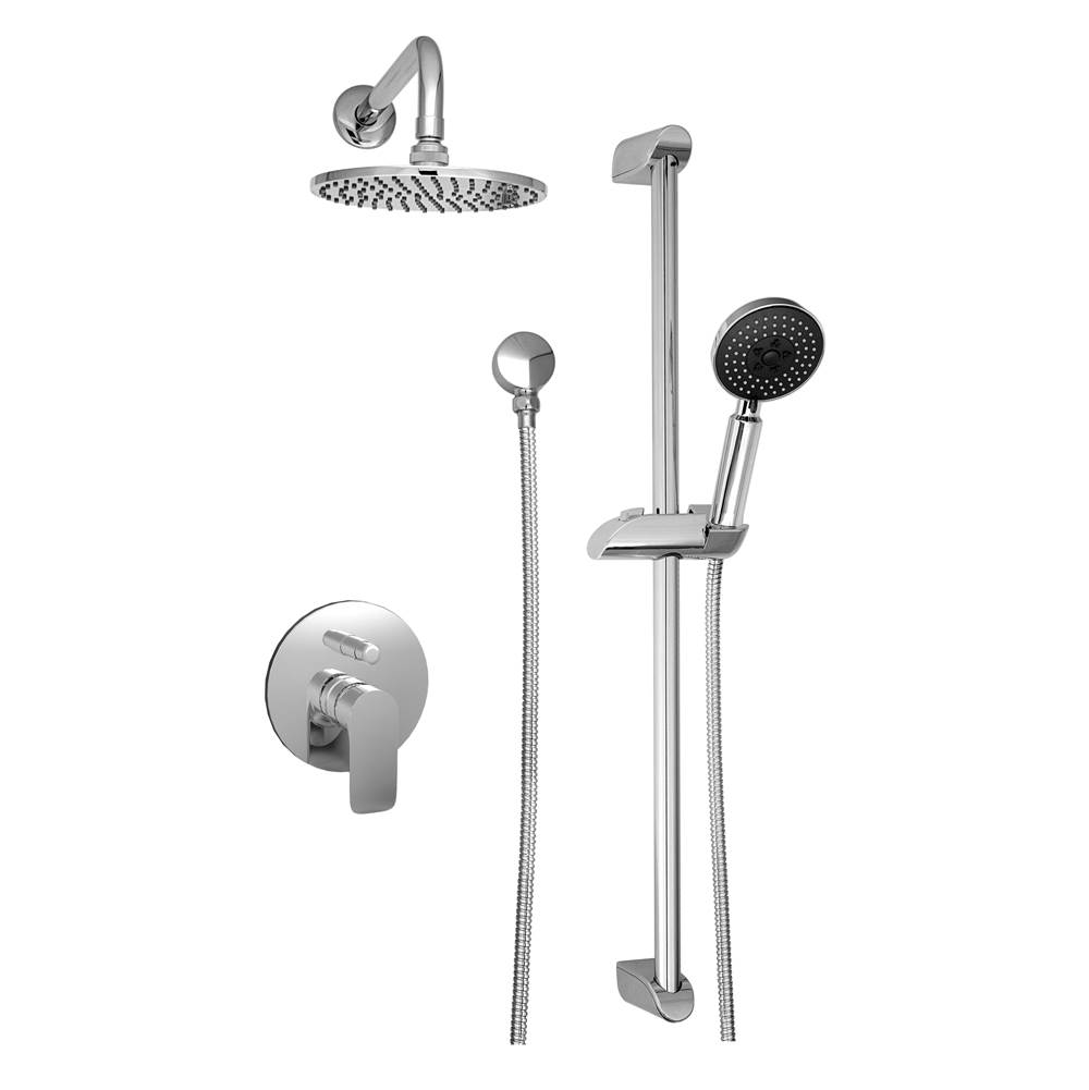 BARiL Pressure Balance Trims With Integrated Diverter Shower Faucet Trims item PRO-2400-45-GG