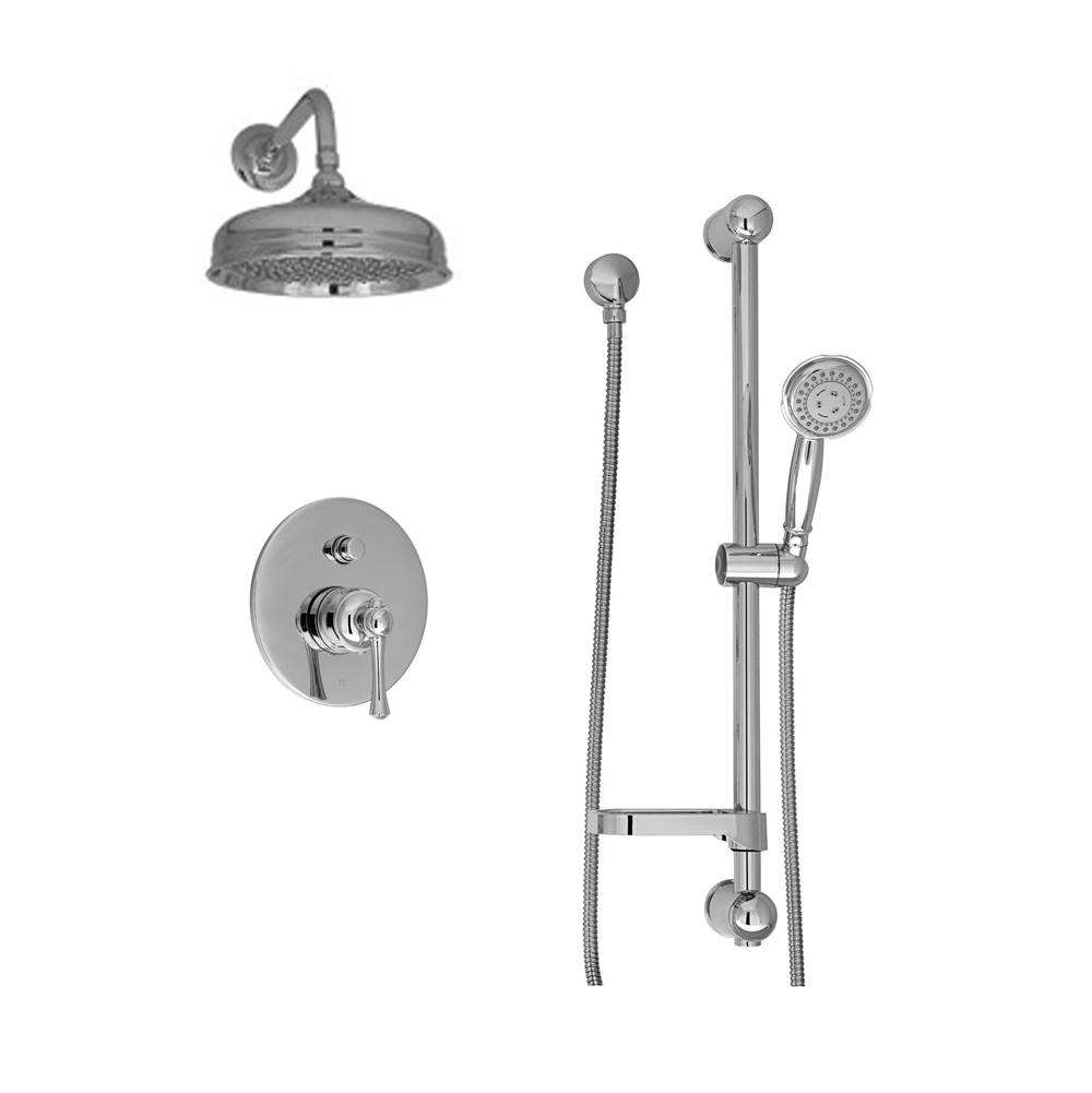 BARiL Pressure Balance Trims With Integrated Diverter Shower Faucet Trims item PRO-2400-72-CC