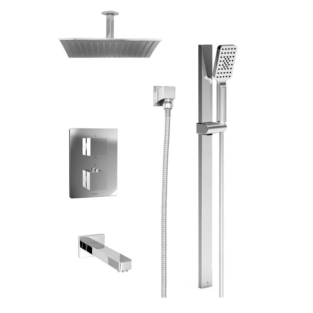 BARiL Pressure Balance Trims With Integrated Diverter Shower Faucet Trims item PRR-4333-10-NN