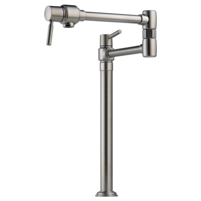 Brizo Canada Deck Mount Pot Filler Faucets item 62720LF-SS