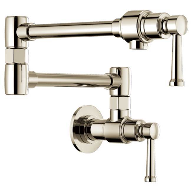 Brizo Canada Wall Mount Pot Filler Faucets item 62825LF-PN