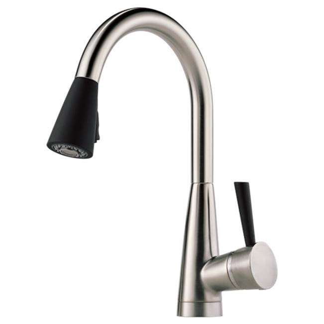Brizo Canada Single Hole Kitchen Faucets item 63070LF-SSST