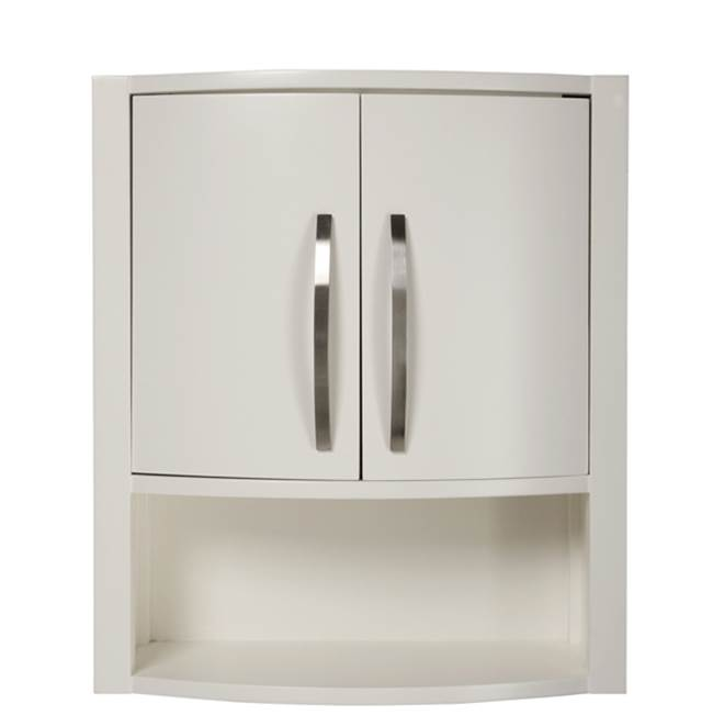 Decolav Wall Cabinet Bathroom Furniture item 5255-WHT