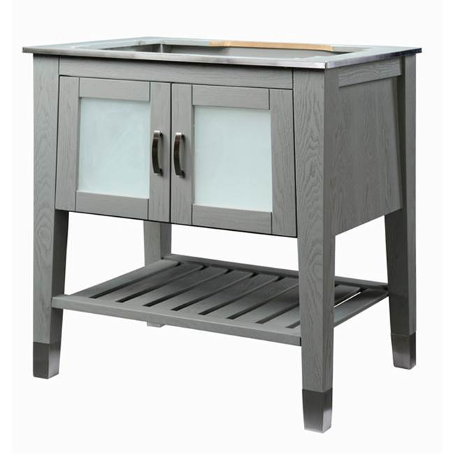 Decolav Floor Mount Vanities item 5264-SLT