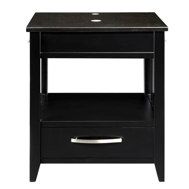 Decolav Floor Mount Vanities item 5360-BLK