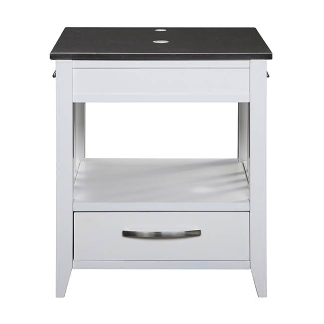 Decolav Floor Mount Vanities item 5360-WHT