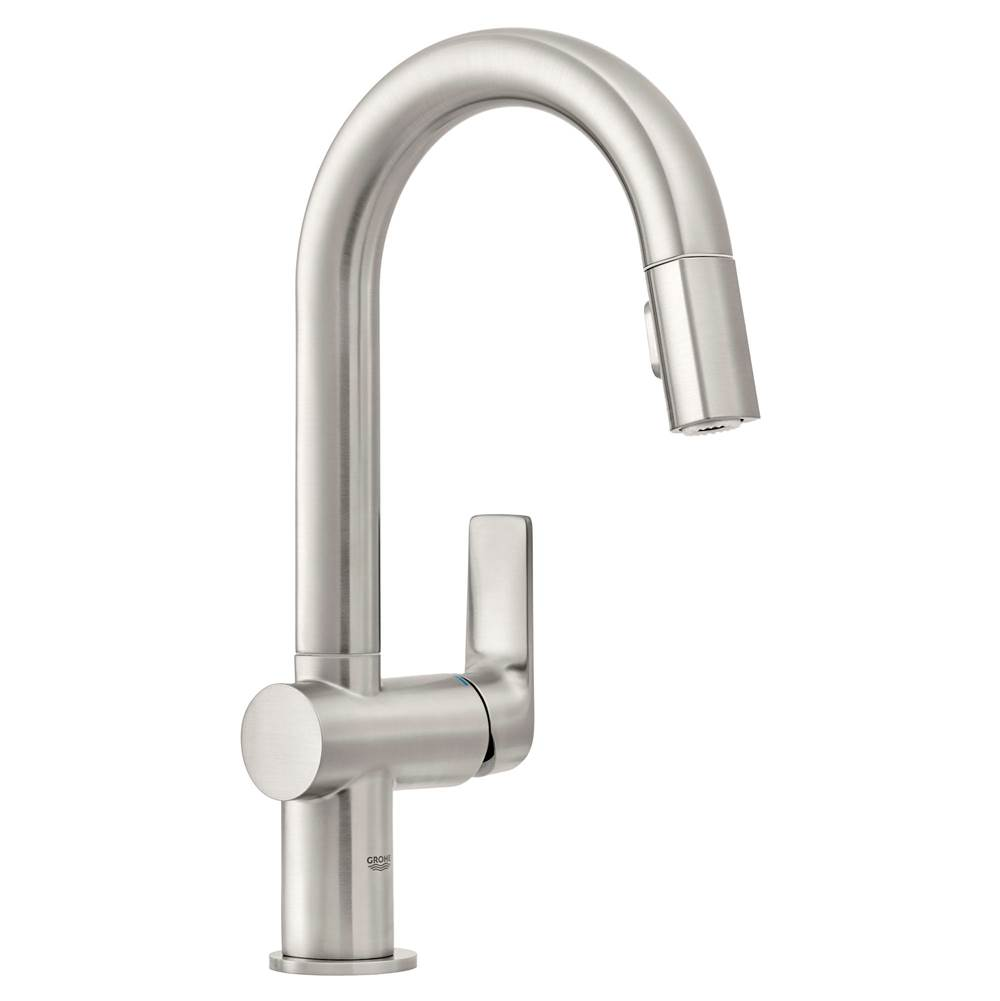 Grohe Exclusive Pull Down Bar Faucets Bar Sink Faucets item 30378DC0