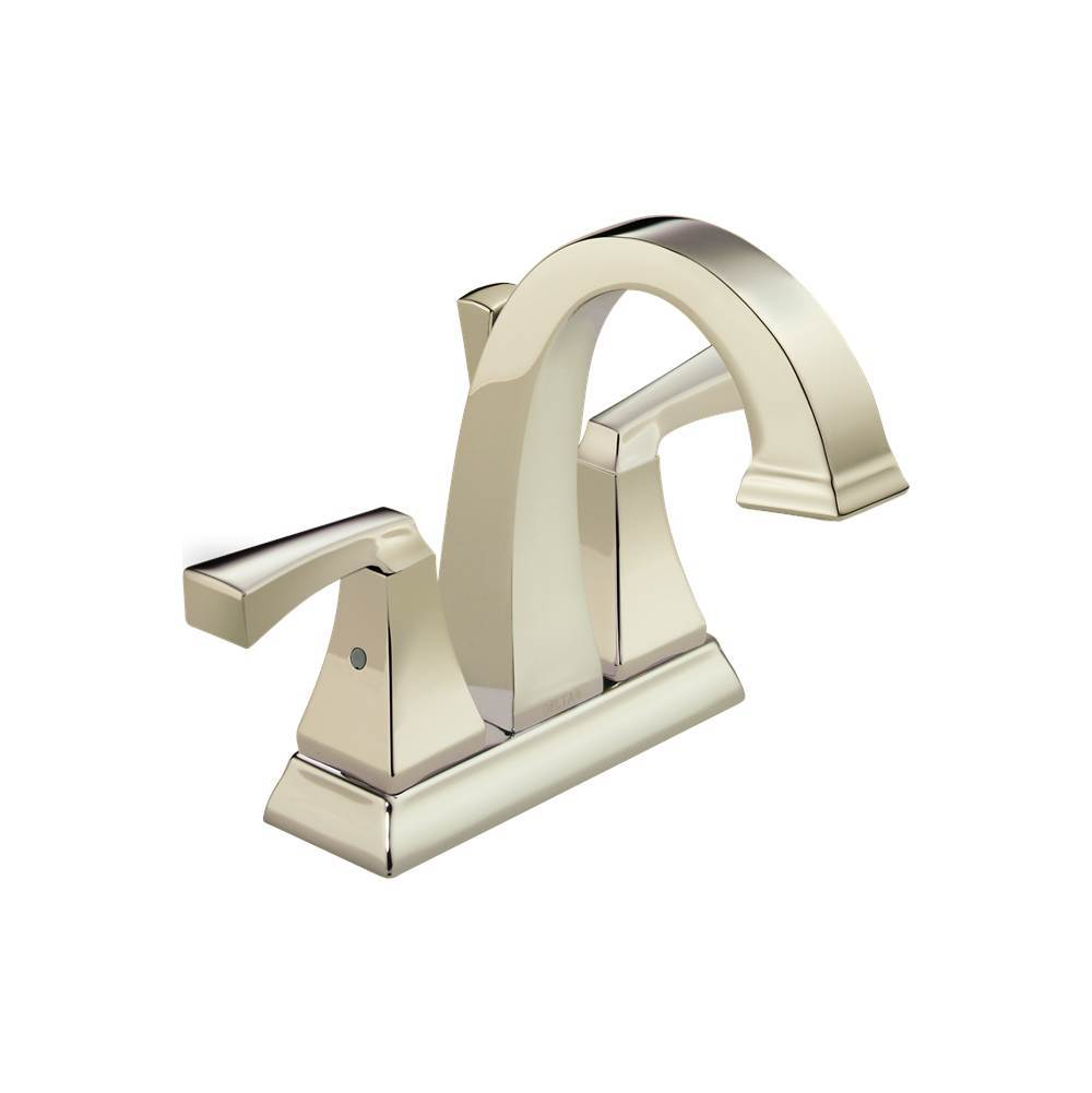 sink nickel widespread faucet delta with faucets cassidy p bathroom handle polished assembly drain metal in pnmpu