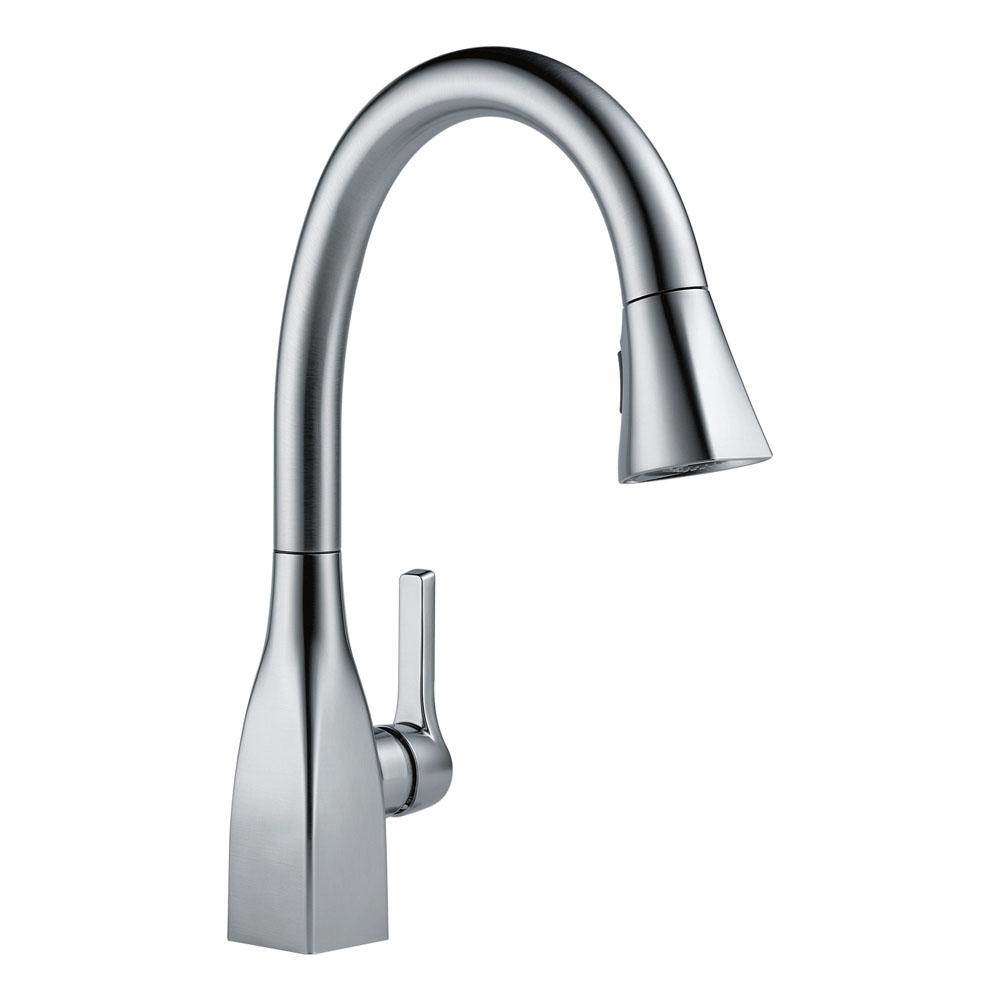 touch faucets faucet classic sink kitchen wf dp handle amazon chrome com on single delta