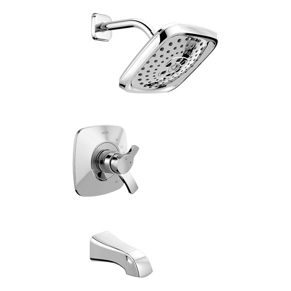 chrome and one brantford detail handle lg faucets moen shower asp tub