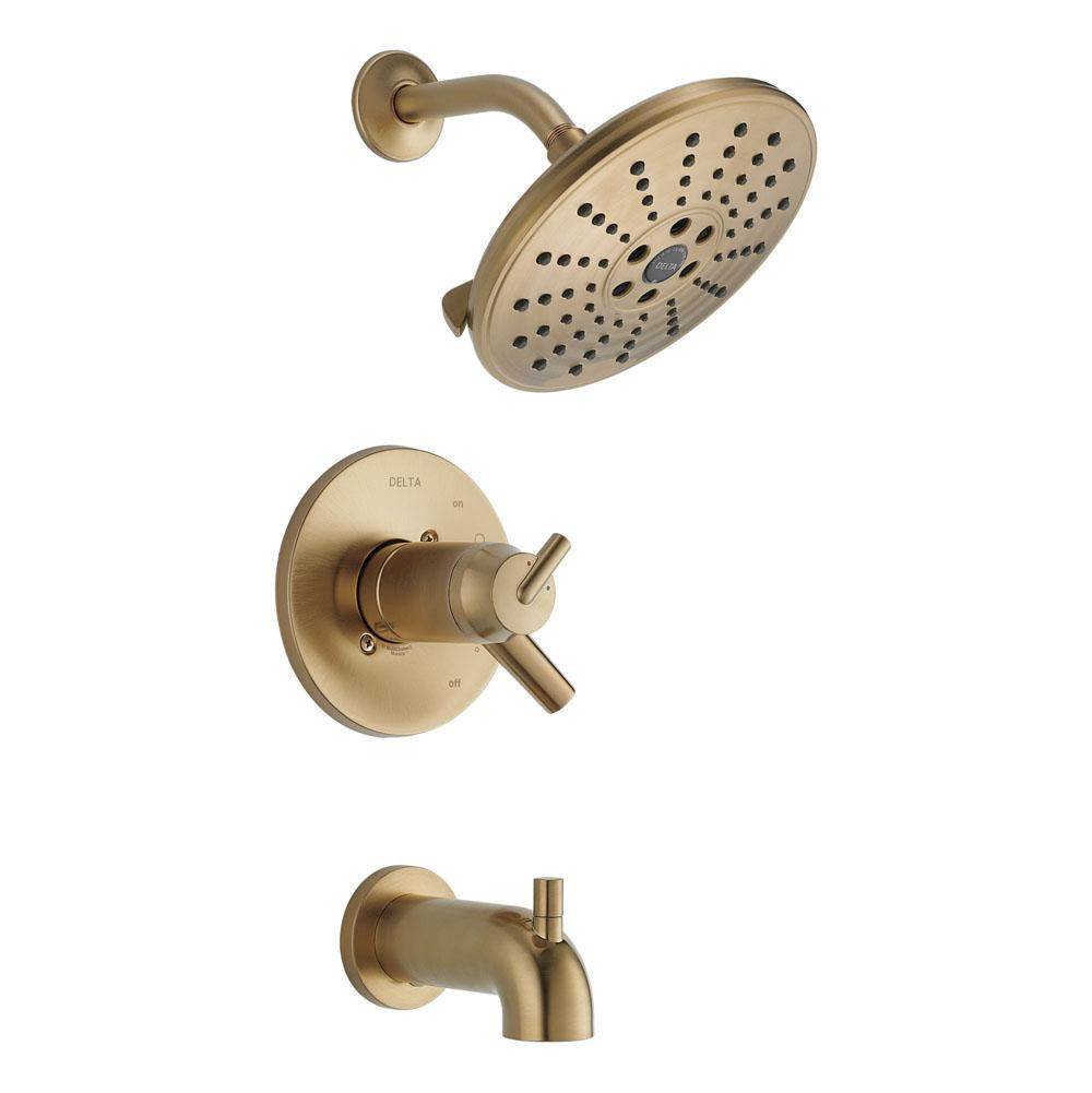 Delta Canada  Tub And Shower Faucets item T17T459-CZH2O