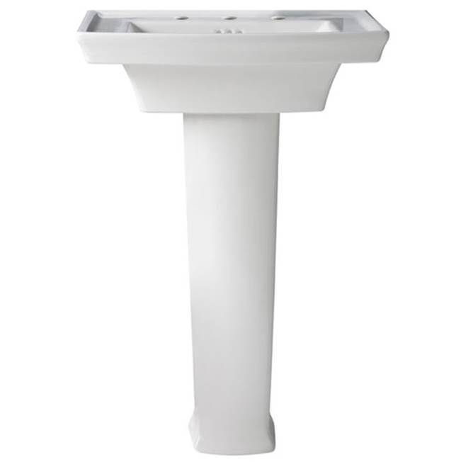 DXV  Pedestal Bathroom Sinks item D21010000.415
