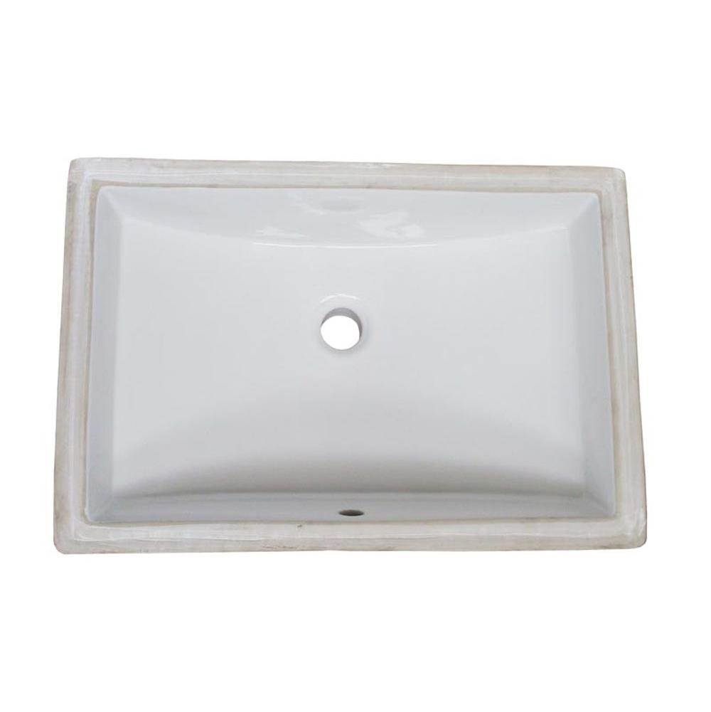 Fairmont Designs Canada Undermount Bathroom Sinks item S-200WH