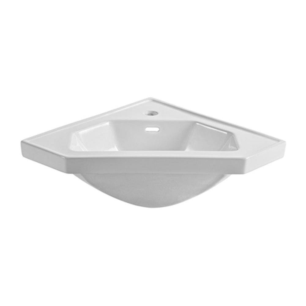 Fairmont Designs Canada Corner Bathroom Sinks item S-CV26