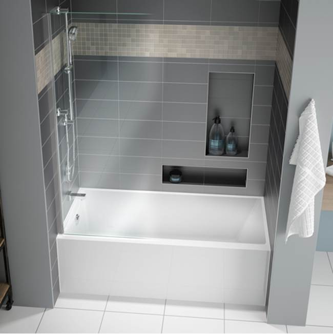 Fleurco Canada Three Wall Alcove Soaking Tubs item BMU6030R-18