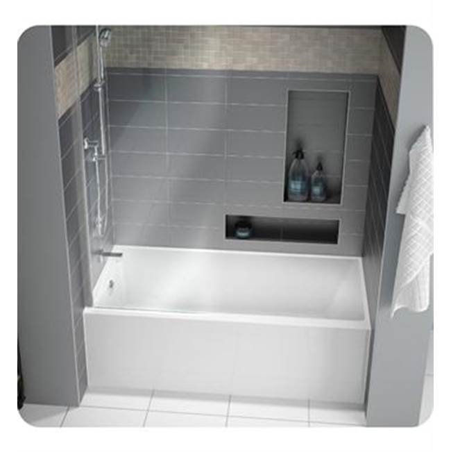 Fleurco Canada Three Wall Alcove Soaking Tubs item BMU6032R-18