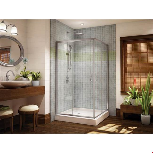 Fleurco Canada Corner Shower Doors item FAC36-11-65