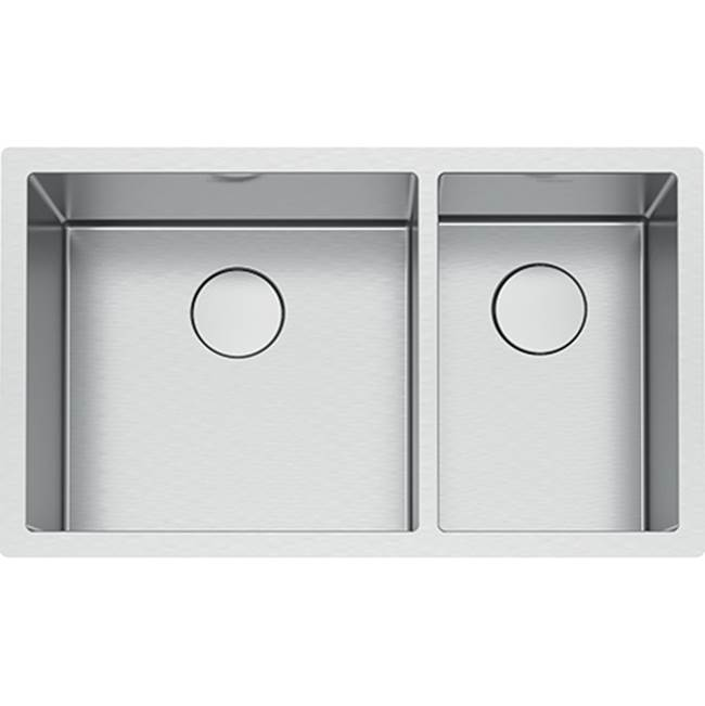 Franke Residential Canada Undermount Kitchen Sinks item PS2X160-18-11-CA