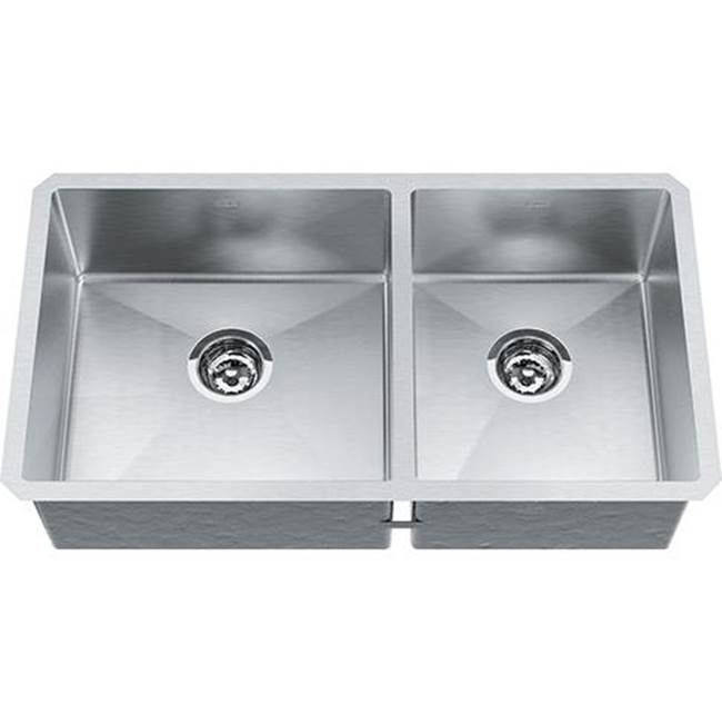 Franke Residential Canada Self Trimming Kitchen Sinks item TCX160-31RH