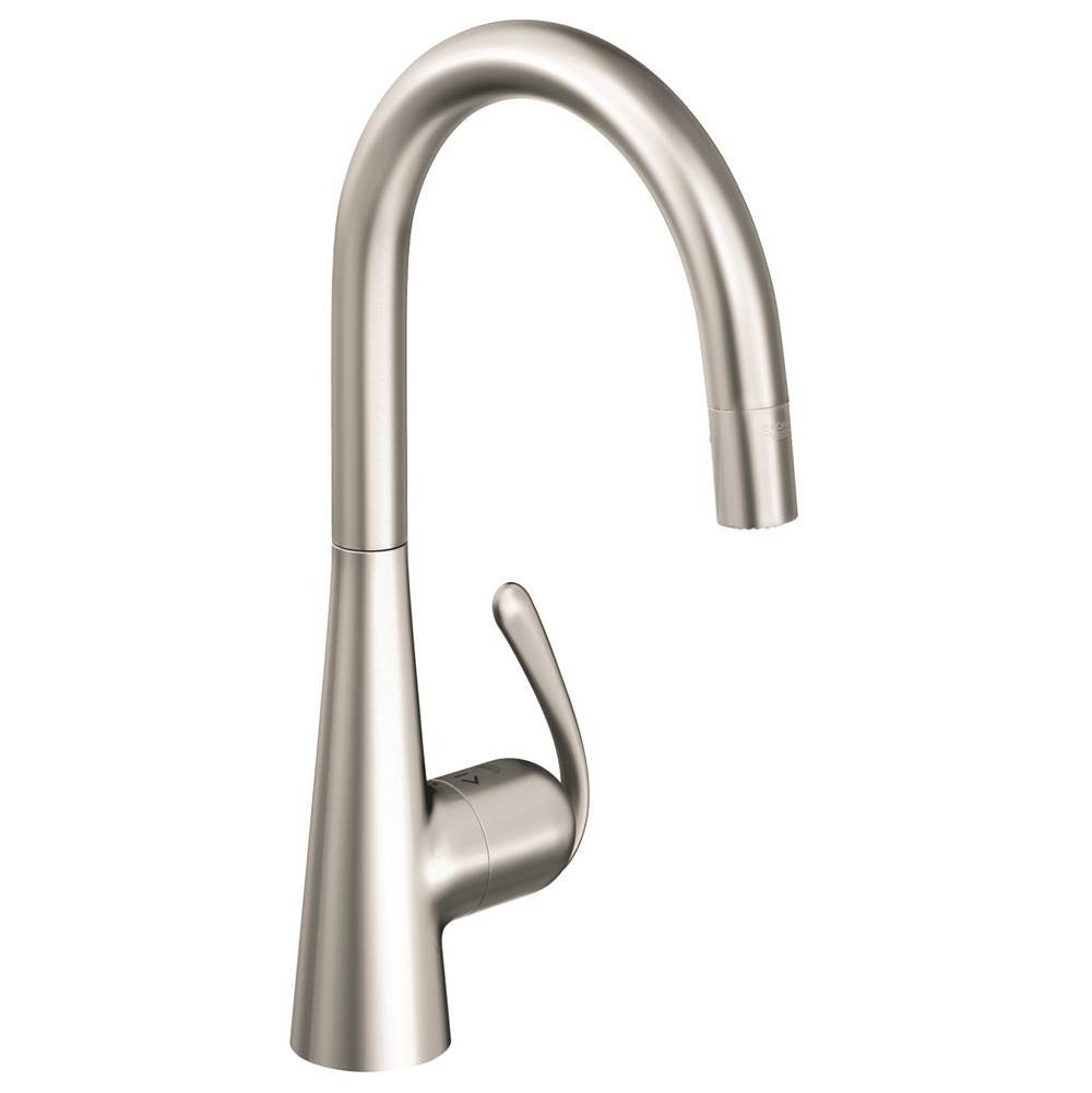 Grohe Canada Single Hole Kitchen Faucets item 32226SD0