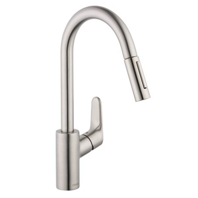 Hansgrohe Talis S Kitchen Faucet | Hansgrohe Canada Faucets Kitchen Faucets Steel The Water Closet