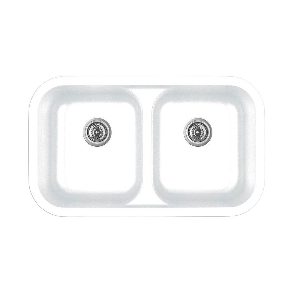 Karran Drop In Kitchen Sinks item Q350WH