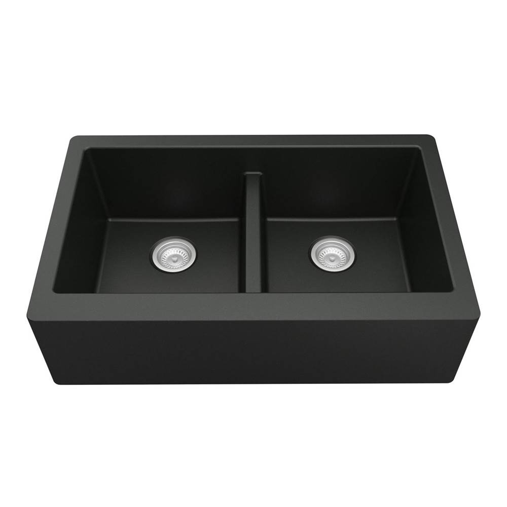 Karran Farmhouse Kitchen Sinks item QA750BL