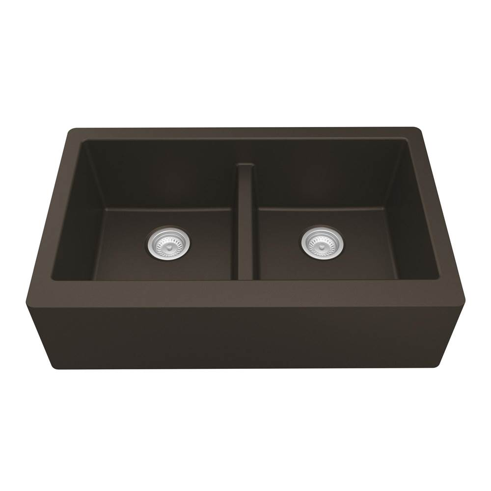 Karran Farmhouse Kitchen Sinks item QA750BR