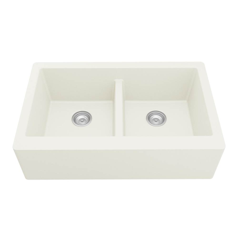 Karran Farmhouse Kitchen Sinks item QA750WH