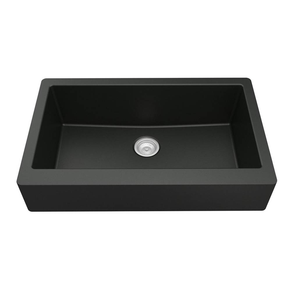 Karran Farmhouse Kitchen Sinks item QAR740BL