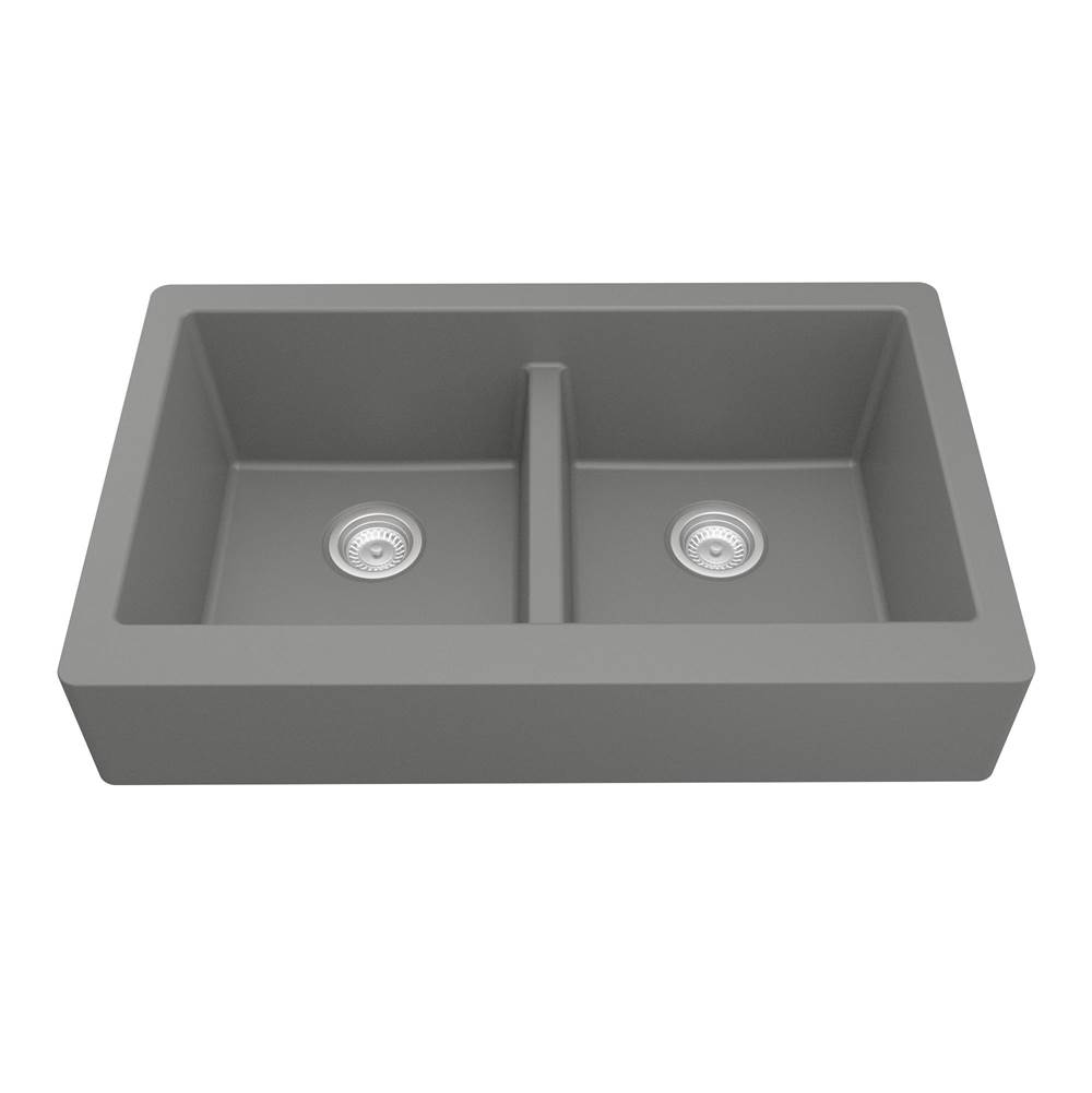 Karran Farmhouse Kitchen Sinks item QAR750GR
