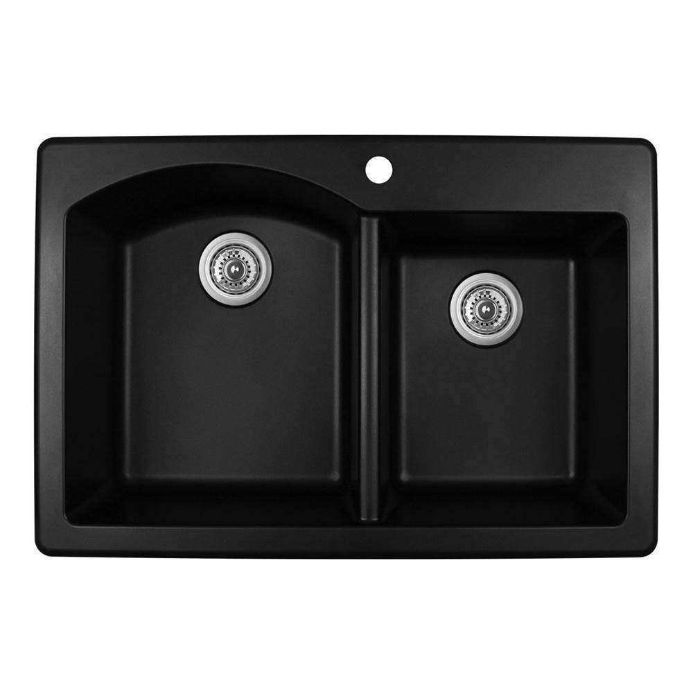 Karran Drop In Kitchen Sinks item QT610BL